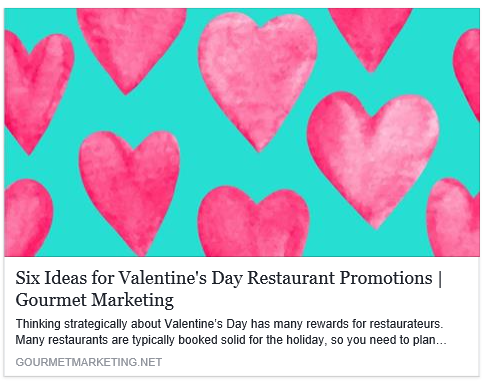 picture - Valentine Day Restaurant Promotions